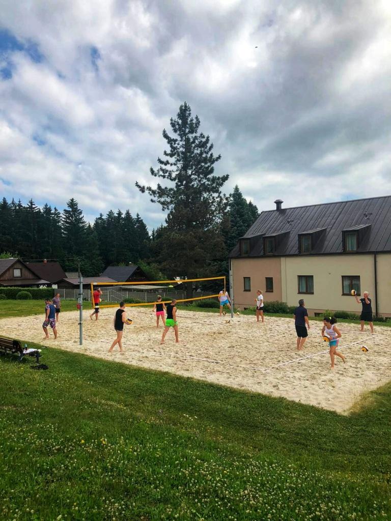 Beach volejbalový workshop