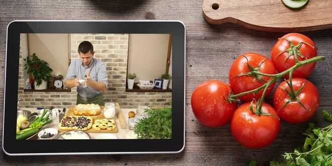 Online firemní akce, online kurz vaření