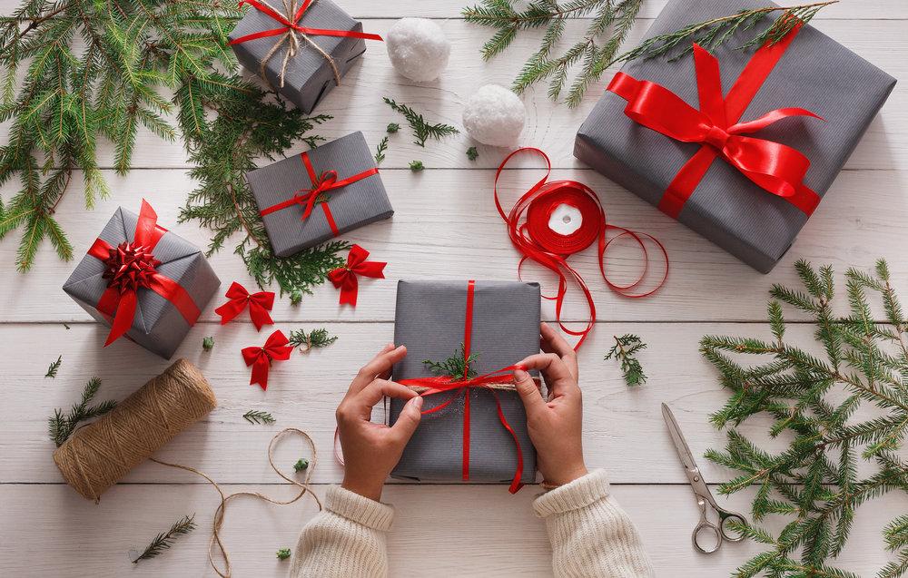 Vánoční večírek v krabici, vánoční dárky pro klienty