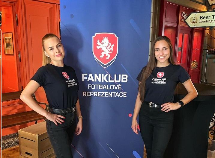 Hostesky pro FANKLUB fotbalové reprezentace